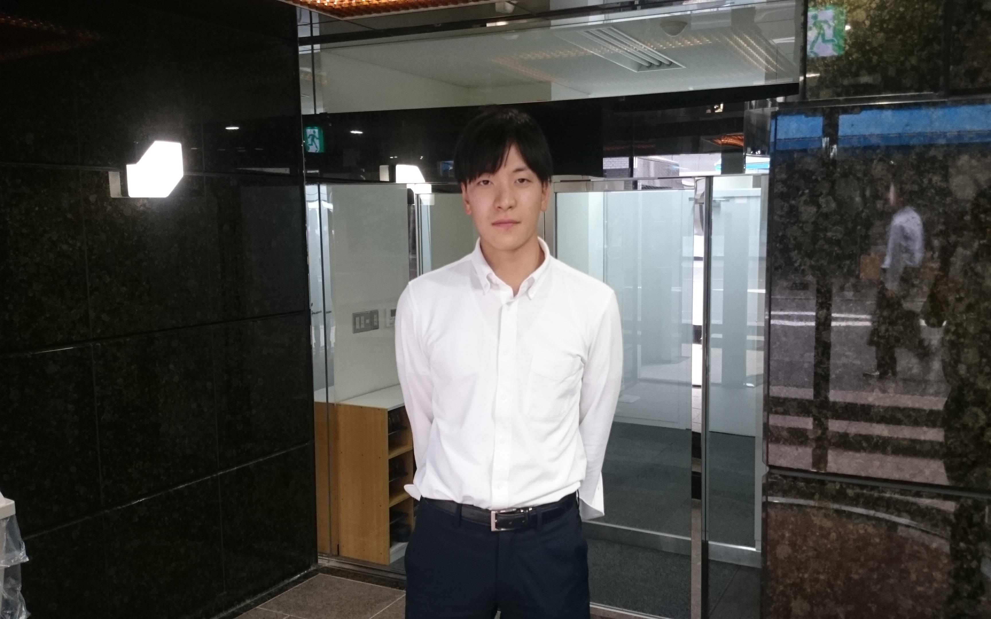 4月より入社した髙橋と申します。
